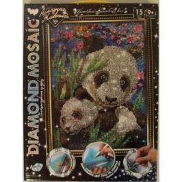 Набор креативного творчества ДАНКО-ТОЙС Diamond Mosaic - Малая панда от 9 лет DM-02-10