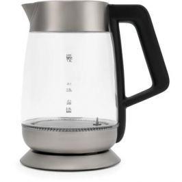 Чайник Polaris PWK 1838CGLD, 2200Вт, 1.8л, стекло, черный