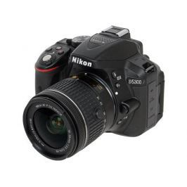 Фотоаппарат Nikon D5300 Black KIT (DX 18-55 VR AF-P 24.1Mp, 3