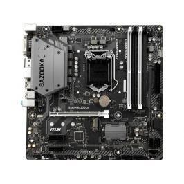 Материнская плата MSI B360M BAZOOKA (S1151, B360, 4*DDR4, 1*PCI-E16x, 2*PCI-E1x, DVI, HDMI, SATA III, M.2, GB Lan, USB3.1, mATX , Retail)
