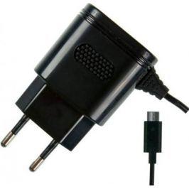 Сетевое зарядное устройство Partner 2.1A microUSB черный ПР032046