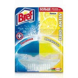 BREF Дуо-Актив Блок туалетный жидкий Лимон 50мл оригинал