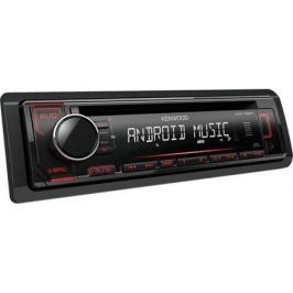 Автомагнитола Kenwood KDC-152R USB MP3 CD FM RDS 1DIN 4х50Вт черный