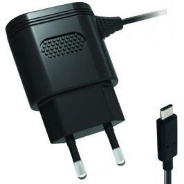 Сетевое зарядное устройство Partner 2.1A USB-C черный ПР038461