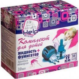 HELP Комплект для ДЕТЕЙ: фумигатор жидкость 30 ночей /24