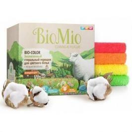 BioMio Экологичный стиральный порошок для цветного белья Bio-Color концентрат с экстрактом хлопка бе