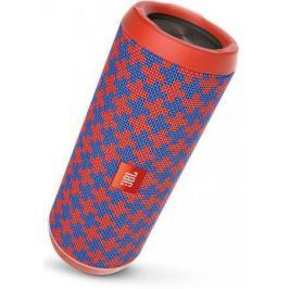 Портативная колонка JBL Flip 4, Orange/Blue (JBLFLIP4MALTA) (16 Вт, 70 - 20 000 Гц, Bluetooth, mini Jack, микрофон, батарея)