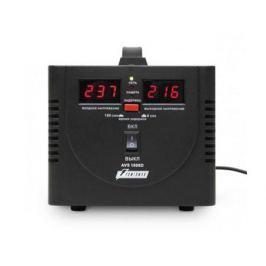 Стабилизатор напряжения Powerman AVS-1000D 2 розетки черный