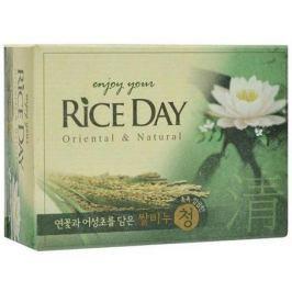 Мыло туалетное CJ Lion Rice Day экстракт лотоса 100 г