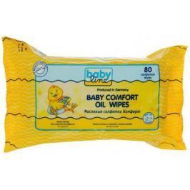 Салфетки влажные Babyline Комфорт 80 шт не содержит спирта