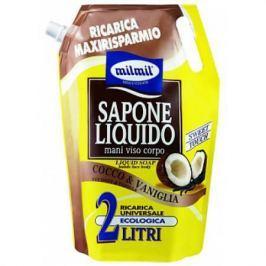 MALIZIA FRESCA VITALITA Жидкое мыло Coconut&Vanilla 2000мл