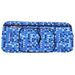 Чехол-портмоне Y-SCOO для самоката 145 - Ромбы голубые складной