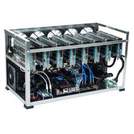 Набор для Майнинга 0548208 Intel Celeron G3930/4Gb/USB32Gb/6 * 8Gb RX570/1250W