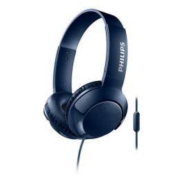 Наушники (гарнитура) Philips SHL3075BL/00 Blue Проводные / Накладные с микрофоном / Синий / 9 Гц - 23 кГц / 103 дБ / Mini-jack / 3.5 мм