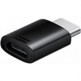 Набор адаптеров Samsung EE-GN930 s8 microUSB-USB Type-C черный EE-GN930KBRGRU