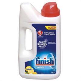 FINISH Средство для мытья посуды в посудомоечных машинах порошкообразное Лимон 1кг