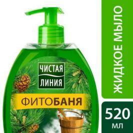 ЧИСТАЯ ЛИНИЯ Мягкое мыло для лица и рук ФИТОбаня 520мл