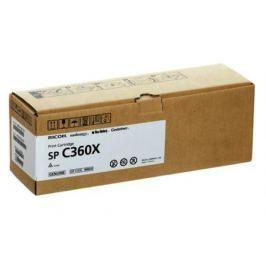 Принт-картридж Ricoh SP C360X для SP C361SFNw. Чёрный. 10 000 страниц.