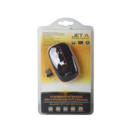 Универсальная беспроводная мышь Jet.A OM-U1G (разрешение до 1600 DPI с переключателем, мини USB приемник, радиус действия до 15 м)