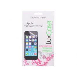 Защитная пленка LuxCase для Apple iPhone 5/5S/5C, (Суперпрозрачная)