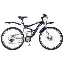 Велосипед Top Gear Explorer 425AL диаметр колес: 26 дюймов, размер рамы: 18 дюймов, цвет черный/бел