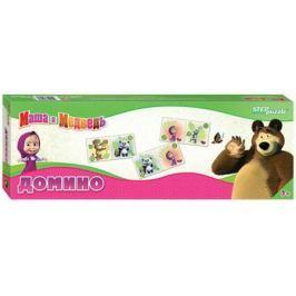 Настольная игра домино Step Puzzle Маша и Медведь 80116