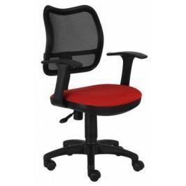 Кресло Buro CH-797AXSN/26-22 спинка сетка черный сиденье красный 26-22 подлокотники T-образные