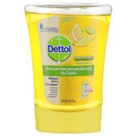DETTOL Антибакт.жидк. мыло для рук с ароматом Цитруса запасной блок для диспенсера No Touch 250 мл