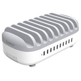 Сетевое зарядное устройство Orico DUK-10P (белый/серый)