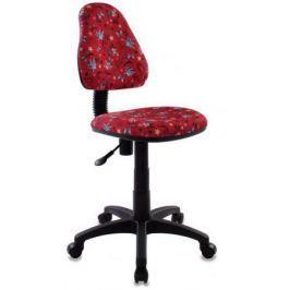 Кресло детское Бюрократ KD-4/ANCHOR-RD красный якоря