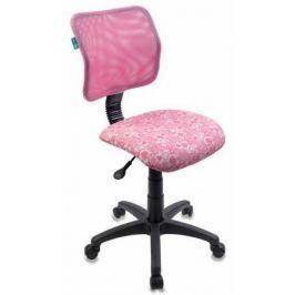 Кресло детское Бюрократ CH-295/PK/HEARTS-PK розовый сердца
