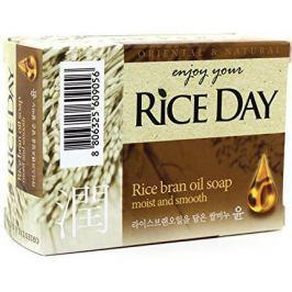Мыло туалетное CJ Lion Rice Day с экстрактом рисовых отрубей 100 г