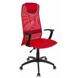 Кресло Бюрократ KB-8/R/TW-97N красный