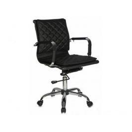 Кресло руководителя Бюрократ CH-991-LOW/BLACK низкая спинка черный