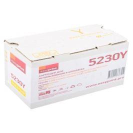 Тонер-картридж EasyPrint LK-5230Y желтый (yellow) 2200 стр. для Kyocera ECOSYS M5521cdn/M5521cdw/P5021cdn/P5021cdw