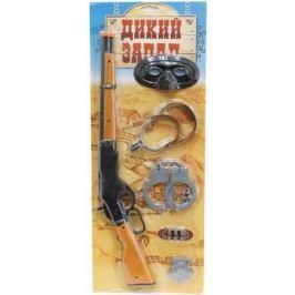 1toy Дикий Запад, набор: ружьё, патроны, наручники, аксессуары