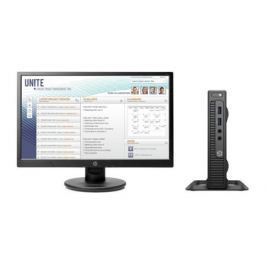 Компьютер HP 260 G2.5 DM Bundle (2TP85ES) i3-6100U (2.3) / 4GB / 500GB / Int: Intel HD 520 / WiFi / BT / DOS (Black) + монитор HP P232