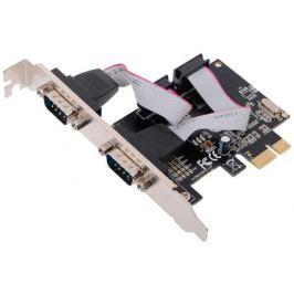 Контроллер Orient XWT-PE2S, PCI-E - 2xCOM, ret