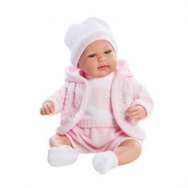 Кукла Arias Elegance 45 см, функционал - плач, с соской, в теплой курточке, шапочке, костюмчике, роз