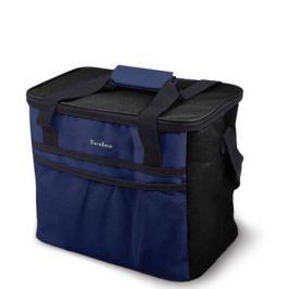 Изотермическая сумка-холодильник TESLER ICB-2532 Черно-Синий. 25л, время сохранение температуры до 12 ч (с аккумуляторами холода)