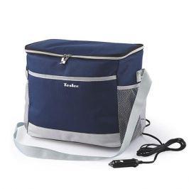 Термоэлектрическая сумка-холодильник TESLER TCB-1422 Синий, 14л, макс охлаждение 11-15° ниже температуры окр. среды(не ниже 5°)