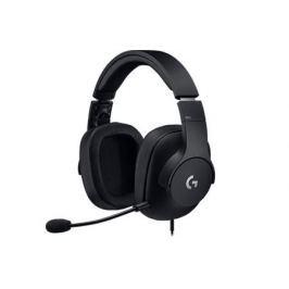 Гарнитура Logitech Gaming Headset PRO (981-000721) Проводные / Накладные с микрофоном / Черный / 20 Гц - 20 кГц / 107 дБ / Одностороннее / Mini-jack / 3.5 мм
