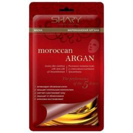 SHARY Маска для лица на тканевой основе Марокканская аргана 20г