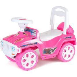 ОР419 Каталка RACE MINI Formula 1 розовая 5558