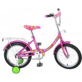 вело 16д.Навигатор Basic,багажн,защита на руле и выносе,звонок,мягк.седло,рама12B,роз.