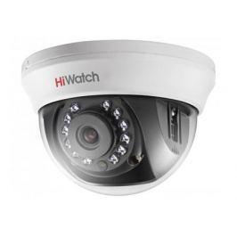Камера HiWatch DS-T101 (2.8 mm) 1Мп внутренняя купольная HD-TVI камера с ИК-подсветкой до 20м 1/4