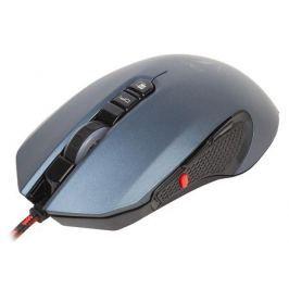 Проводная игровая мышьJet.A ENIO JA-GH23чёрно-синяя(500-3000 dpi,7пр.кнопок,LEDподсветка,USB)