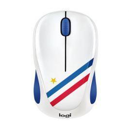 Мышь беспроводная Logitech M238 France USB оптическая, 1000 dpi, 3 кнопки + колесо