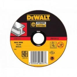Круг отрезной DEWALT DT42200-XJ Ф115х22.2х1.6мм тип 1 по металлу