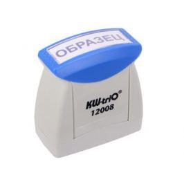 Штамп KW-trio 12008 со стандартным словом ОБРАЗЕЦ пластик цвет печати ассорти